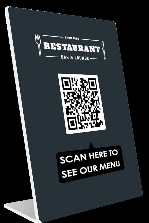 σχεδιασμος και κατασκευή QR menu