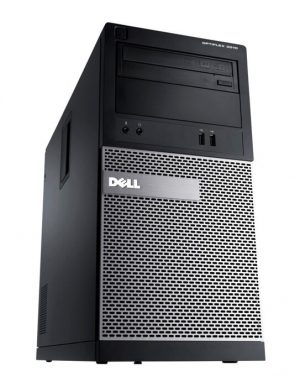 DELL PC 3010 MT, i7-3770, 8GB, 500GB HDD, DVD, REF SQR