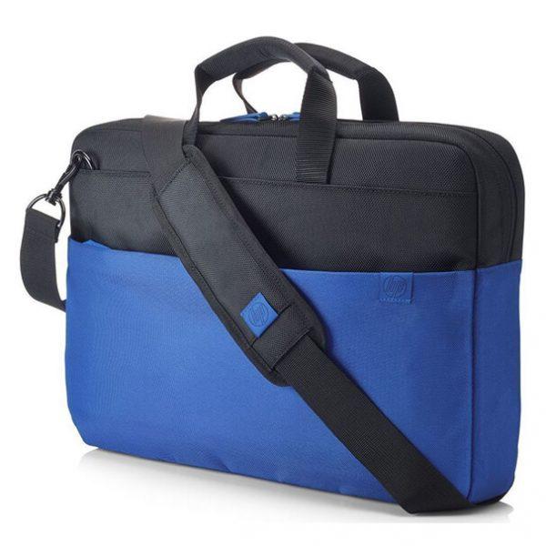 "HP 15.6"" Τσάντα laptop BriefCase Duotone Μαύρο-Μπλε"