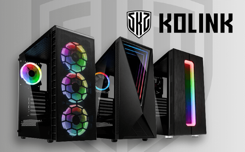 kolink gaming pc cases